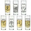 7 Deadly Sins Shot Glasses