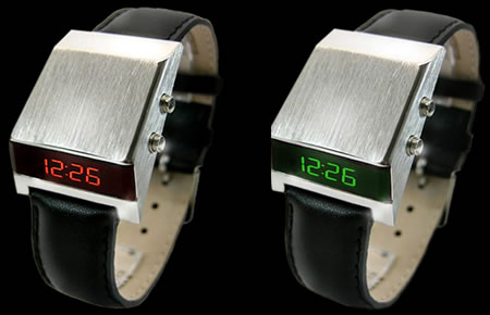 Drivers 70s Style Retro Digital LED Watch