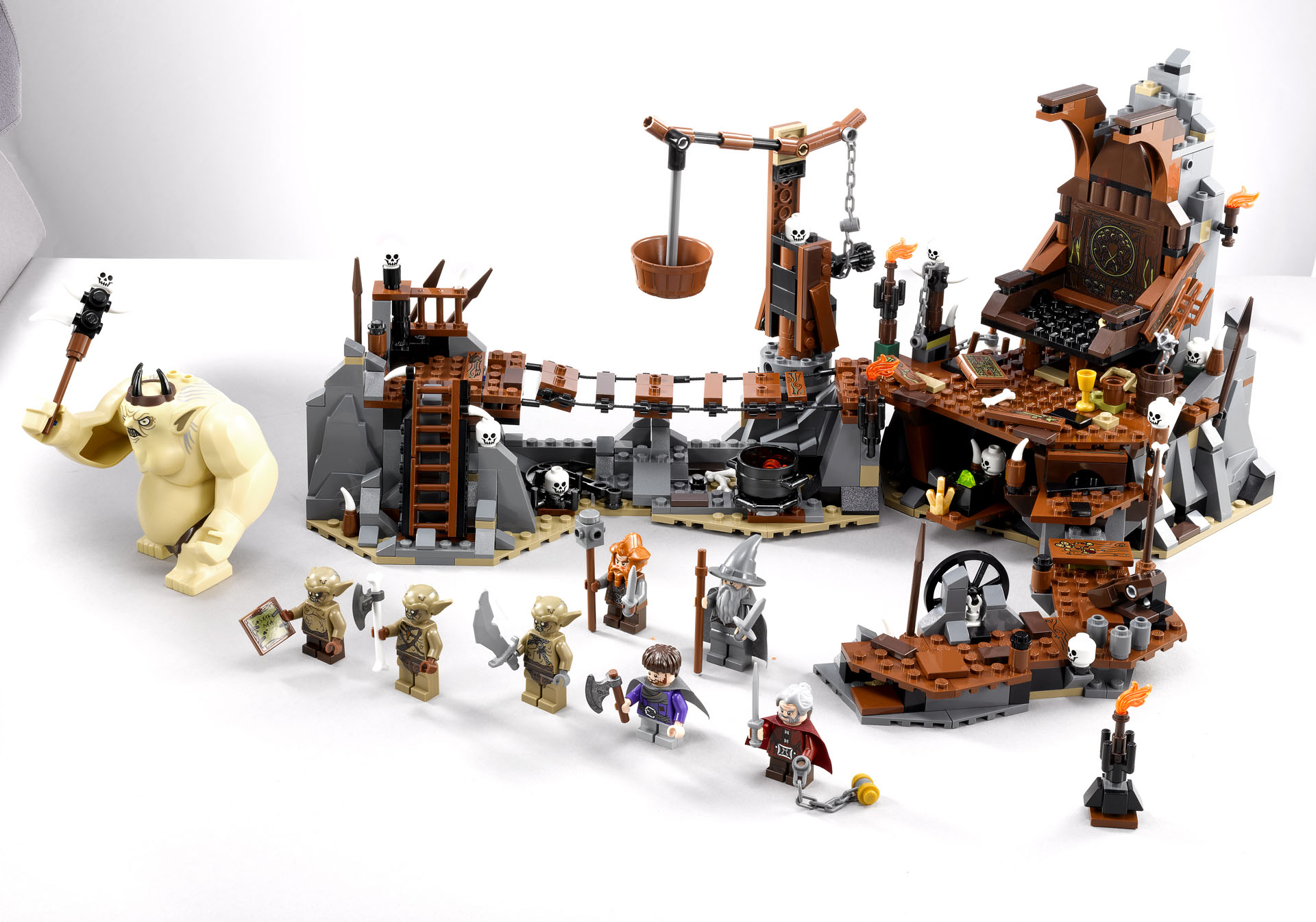 lego hobbit goblin king | eBay