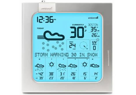 Wireless 7-Day Weather Forecaster
