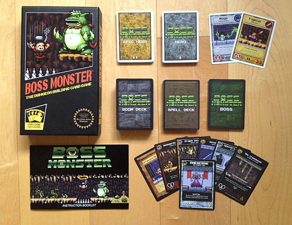 8 Bit Boss Monster Dungeon Building Card Game