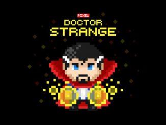 8 Bit Dr Strange T Shirt
