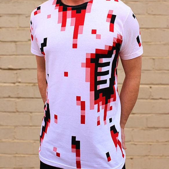 8 Bit Zombie Shirt