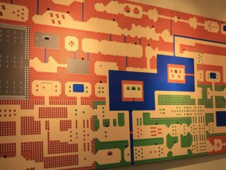 8 Foot Long Wall Mural of ZELDA for the NES Map