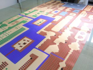 8 Foot Zelda Inspired Map