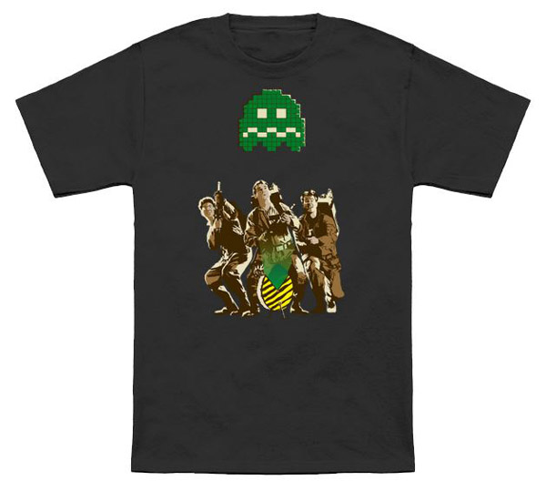 8-bit Ghostbusting Shirt