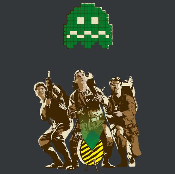 8-bit Ghostbusting T-Shirt