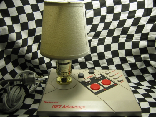 8-bit Legacy NES Advantage Joystick Desktop Lamp