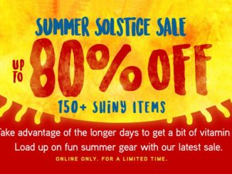 80% Off ThinkGeek Summer Solstice Sale