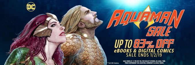 83% Off Aquaman Sale at comiXology.com