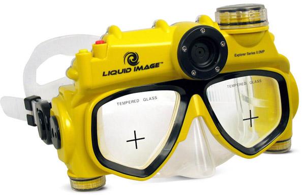 8MP Digital Underwater Camera Mask