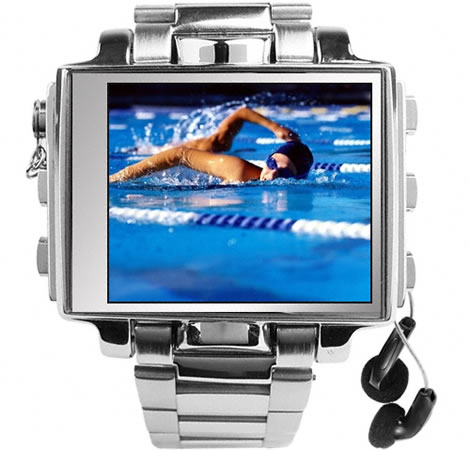 8GB Multimedia Watch with 1.8-Inch Screen