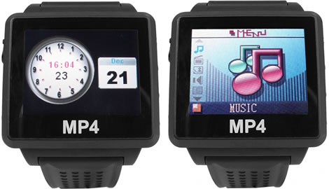 8GB Multimedia Watch with Bluetooth Headset