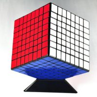 8x8x8 8cm Black Twisty Speed Cube Puzzle