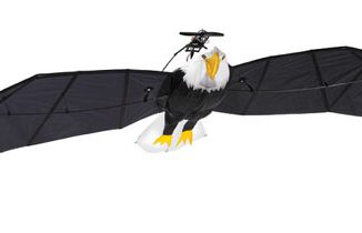 9.5 Foot Remote Controlled Bald Eagle