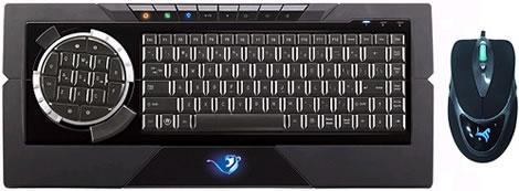 9051H Cheetah Professional Gaming Keyboard and Mouse Kit