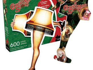 A Christmas Story 2-Sided 600-Piece Shaped Puzzle