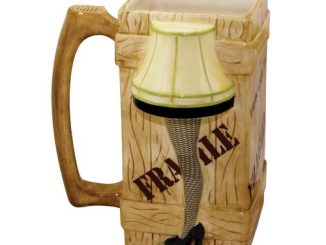 A Christmas Story 40 oz. Ceramic Leg Lamp Stein