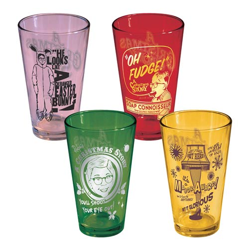 A Christmas Story Color 16 oz. Pint Glass 4-Pack
