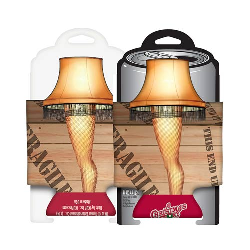 A Christmas Story Leg Lamp Can Hugger