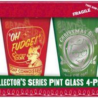 A Christmas Story Movie - Tinted Pint Bar Glasses