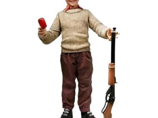 A Christmas Story Ralphie With BB Gun Action Figure