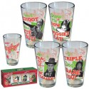 A Christmas Story Retro Pint Glass 4 Pack