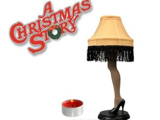 A Christmas Story Votive Candle Holder