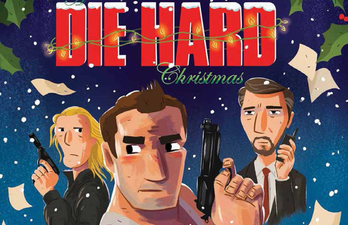 twas the night before christmas and up in the tower everyone was partying except for one wallflower thus begins a die hard christmas the illustrated - Twas The Night Before Christmas Movie