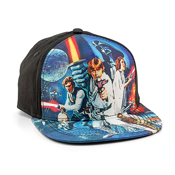 A New Hope Sublimated Snapback Cap