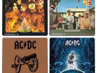 AC/DC Album Cover Coaster 4-Pack