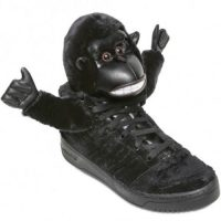 ADIDAS ORIGINALS Jeremy scott gorilla sneakers