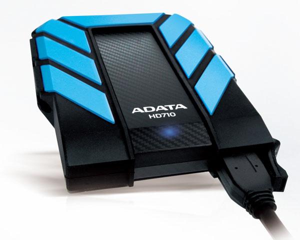 AData DashDrive HD710 Waterproof & Shockproof Portable Hard Drive