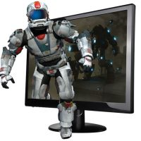 AOC 23-inch Flicker-Free 3D Monitor