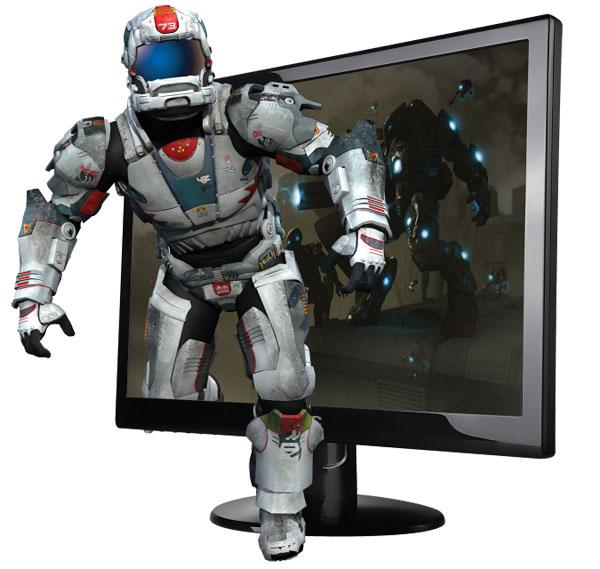 AOC 23-inch Flicker-Free 3D Monitor