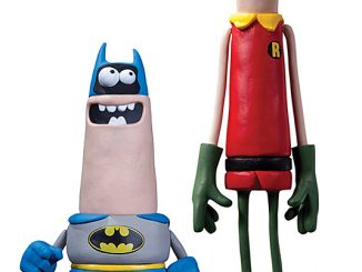 Aardman Batman and Robin set