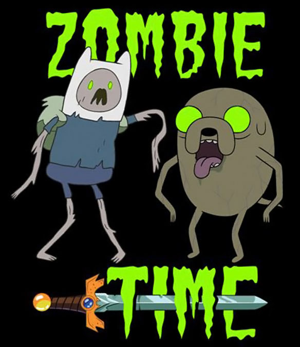 Adevnture Time Zombie T-Shirt