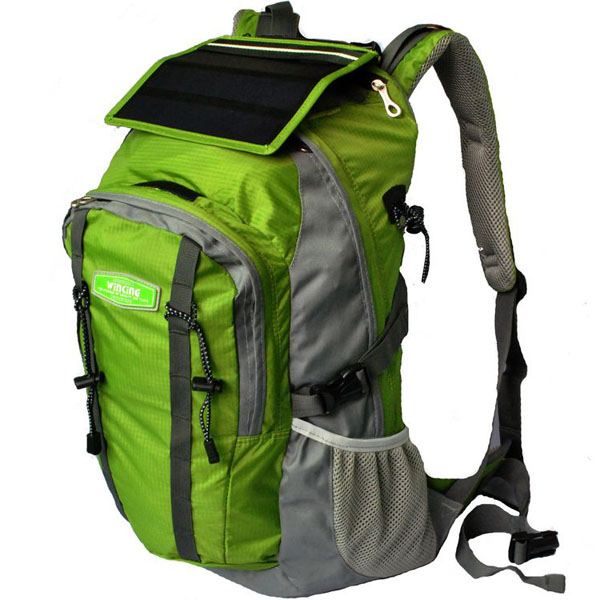 Zaino Pannello Solare Wikipedia : Solar charge backpack bag
