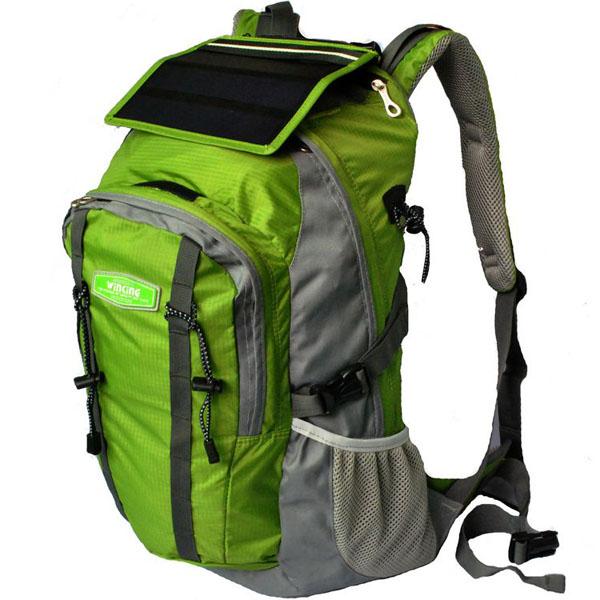 Pannello Solare Da Zaino : Solar charge backpack bag