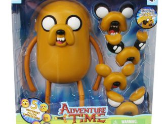 Adventure Time 10-Inch Jake with Changing Faces Figure