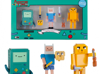 Adventure Time 2 3 4-Inch Pixel Action Figure 3-Pack