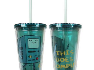 Adventure Time BMO Compute Acrylic 16 oz. Travel Cup