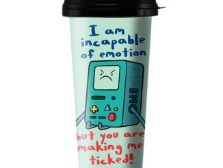 Adventure Time BMO Ticked 16 oz. Travel Mug