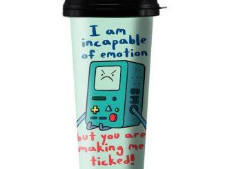 Adventure Time BMO Ticked 16 oz. Travel Mug