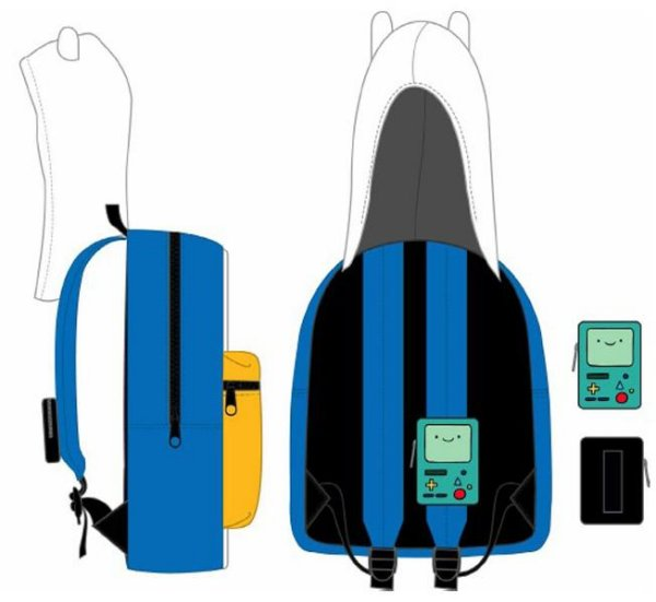 Adventure Time Backpack With Hood & BMO Case