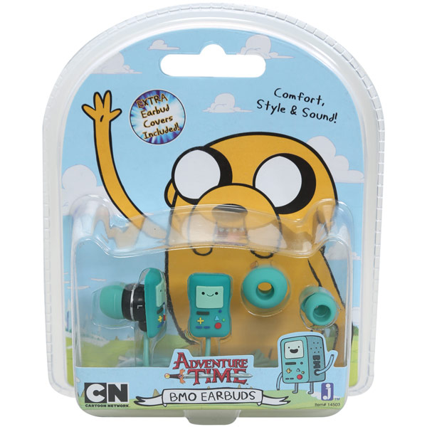 Adventure Time Beemo Ear Buds