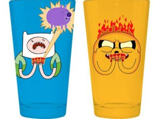 Adventure Time Card Wars 16 oz. Pint Glass 2-Pack