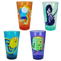 Adventure Time Dance Pint Glass 4-Pack