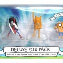 Adventure Time Deluxe Action Figure 6 Pack