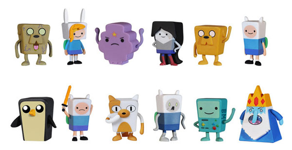 Adventure Time Figural Tin Mystery Minis Random 4 Pack